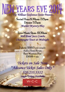 New Year's Eve Party 2014 at Willmar Conference Center
